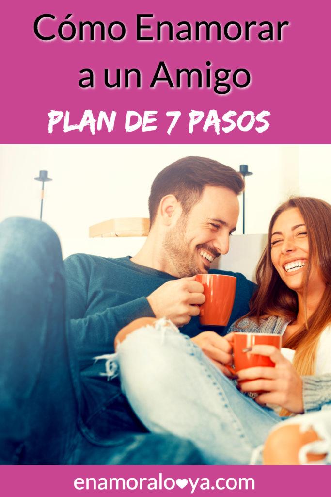 Cómo enamorar a un amigo con un plan de 7 pasos. Atrévete a conquistarlo, pudiera ser el hombre de tu vida. ¡No pierdas la oportunidad! #amor #novios