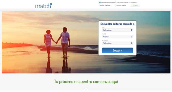 Match.com - El sitio de citas online