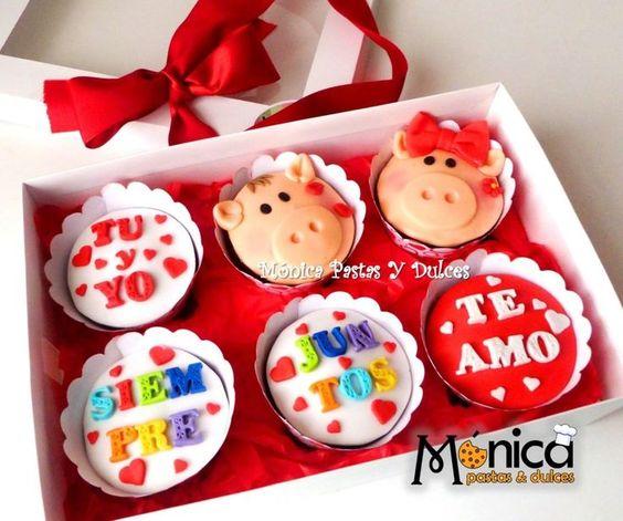 cupcakes 14 febrero san valentin