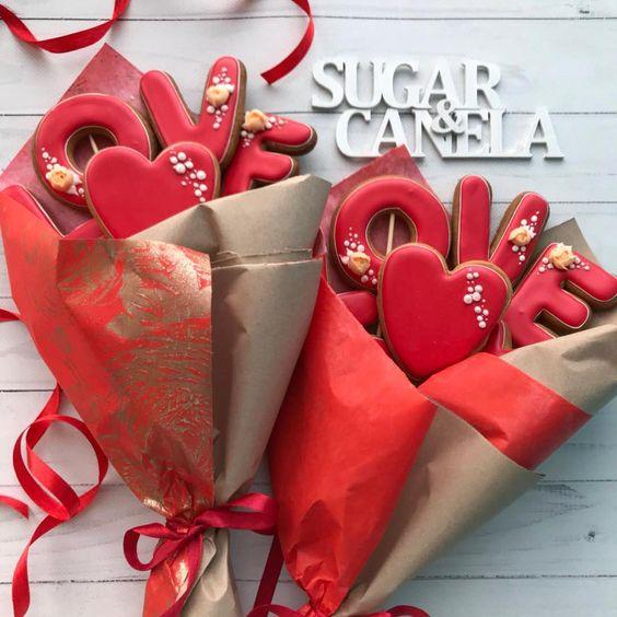 Galletas San Valentin Regalo ellos